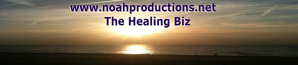 Homepage of The Healing Biz
